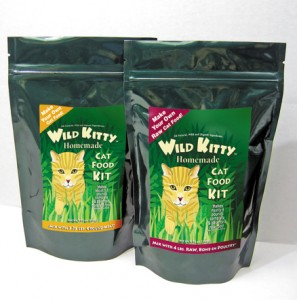 Wild Kitty Cat Food Packaging Designer